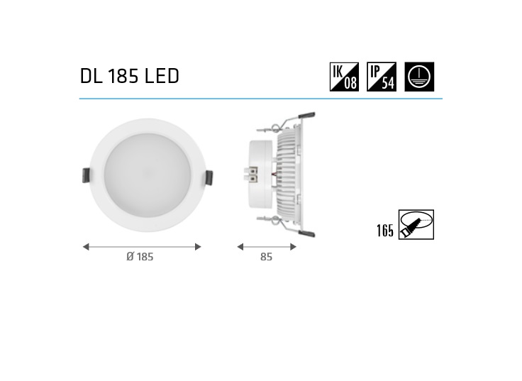 led inbouw downlights