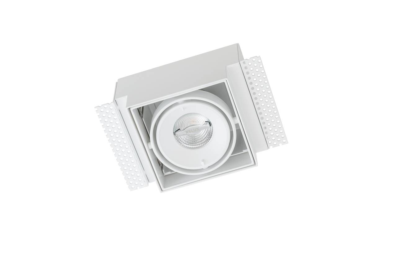 witte richtbare trimless led spot