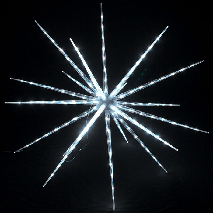 Vuurwerk effect Ice white led