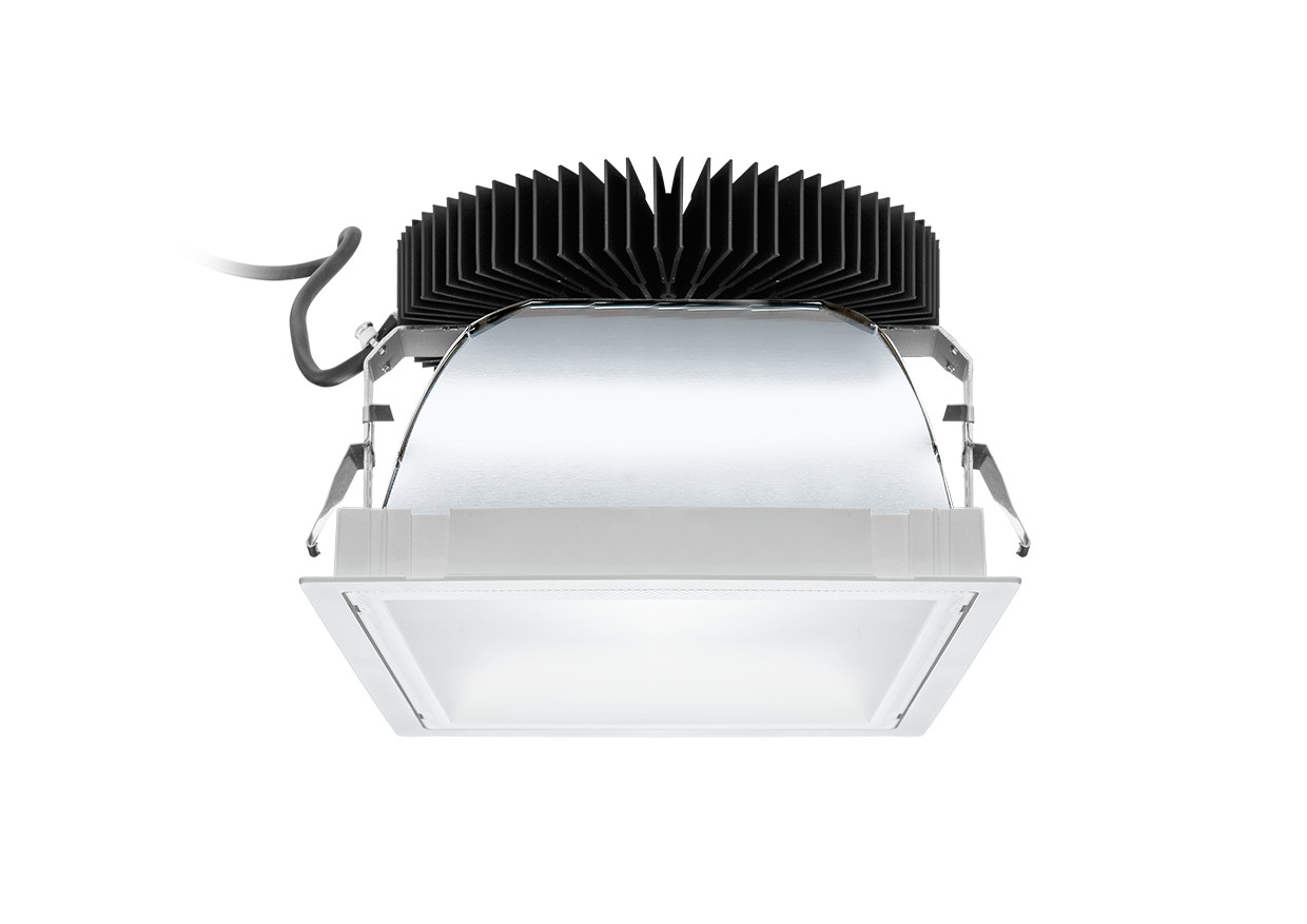 Led inbouw downlight vierkant